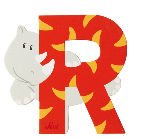 "Sevi Letter ""R"":  Animal 