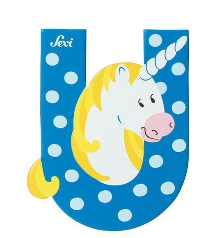 "Sevi Letter ""U"":  Animal 