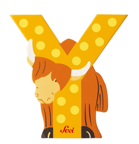 "Sevi Letter ""Y"":  Animal 