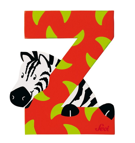 "Sevi Letter ""Z"":  Animal 