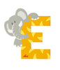"Sevi Letter ""E"":  Animal 