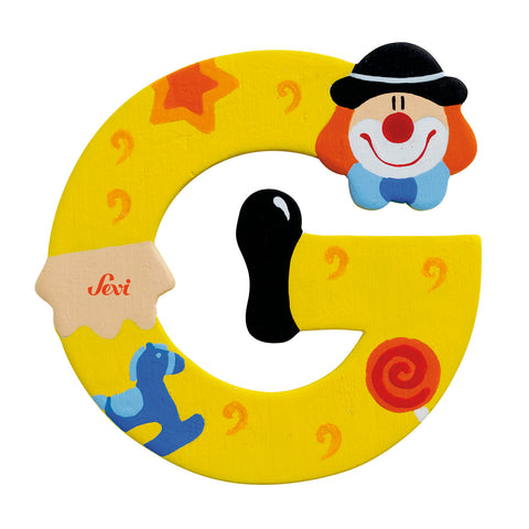 "Sevi Letter ""G"":  Clown"