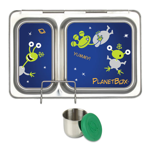 PlanetBox Shuttle with One Sililid Tall Dipper & Free Aliens Magnets