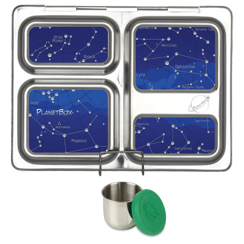 PlanetBox Launch with One Sililid Tall Dipper & Free Star Map Magnets