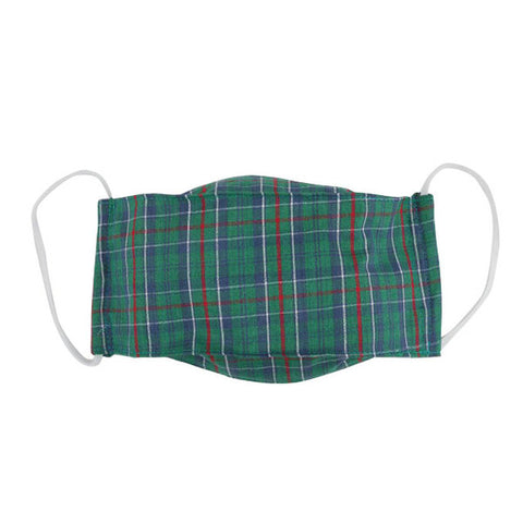 Snug as a Bug 100% Cotton Face Mask: Tartan (Age 12+ / Adult)