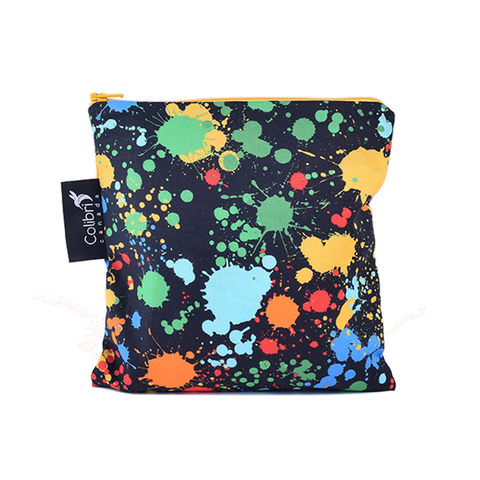 Colibri Large Reusable Snack Bag - Splatter