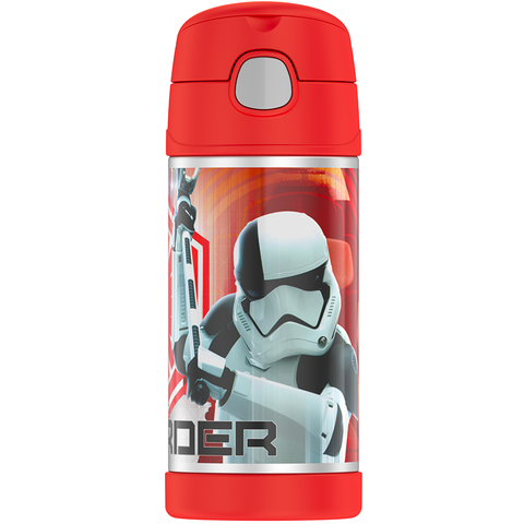 Thermos 12oz FUNtainer Straw Bottle: Star Wars EPVIII