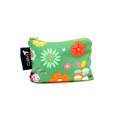 Colibri Small Reusable Snack Bag - Garden