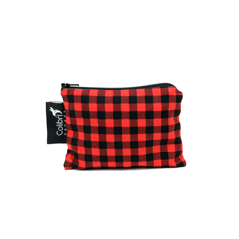 Colibri Small Reusable Snack Bag - Plaid