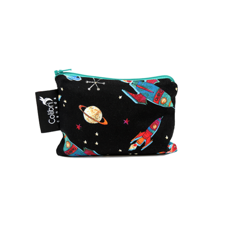 Colibri Small Reusable Snack Bag - Rockets