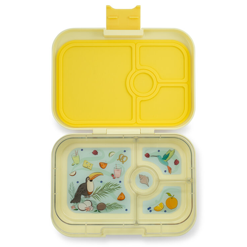 Yumbox: Sunburst Yellow (4 Compartments)