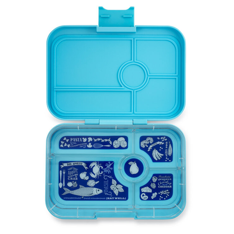 Yumbox Tapas - Nevis Blue (5-Compartment Tray)
