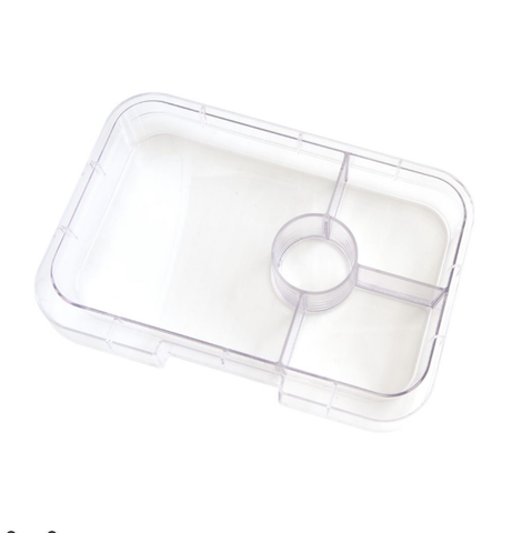 New LARGER Yumbox Tapas - Extra 4-Compartment Tray, Non-Illustrated
