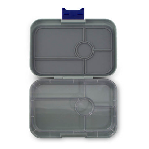 Yumbox Tapas - Flat Iron Grey (5-Compartment Tray)