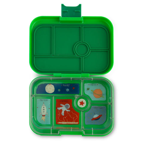 Yumbox: Terra Green (6 Compartments)