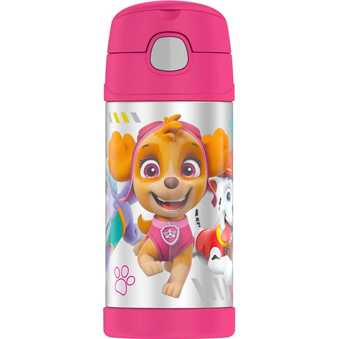 Thermos 12 oz FUNtainer Bottle: Pink Paw Patrol II