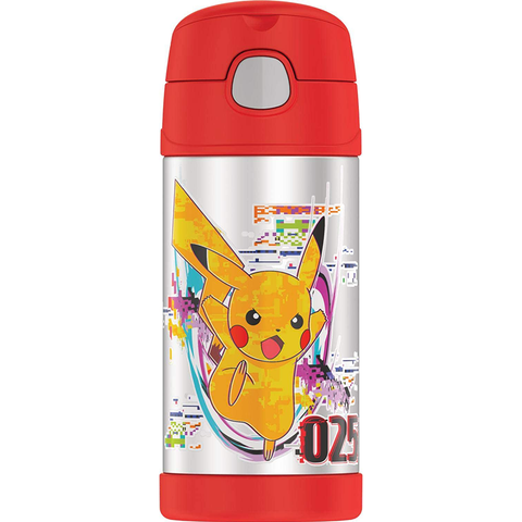 Thermos 12oz FUNtainer Straw Bottle: Pokemon II