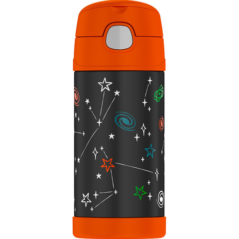 Thermos 12oz FUNtainer Straw Bottle: Space Party