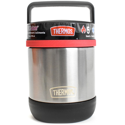 Thermos Food Jar with Handle: Black
