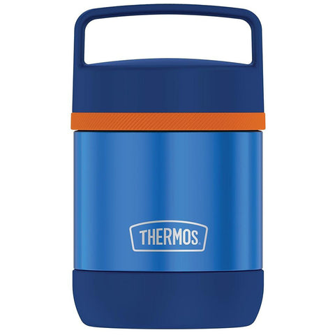 Thermos Food Jar with Handle: Blue