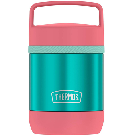 Thermos Food Jar with Handle: Teal