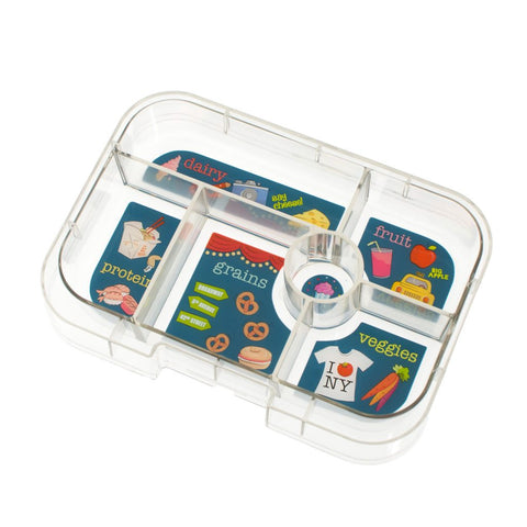 Yumbox Extra Tray: 6 Compartments, NYC theme