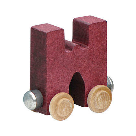 "Maple Landmark Letter ""W"" NameTrain 