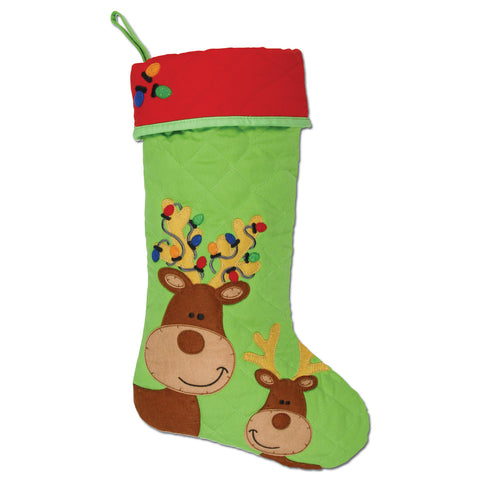 Stephen Joseph Reindeer Stocking