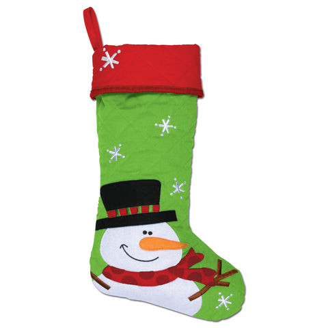 Stephen Joseph Snowman Stocking