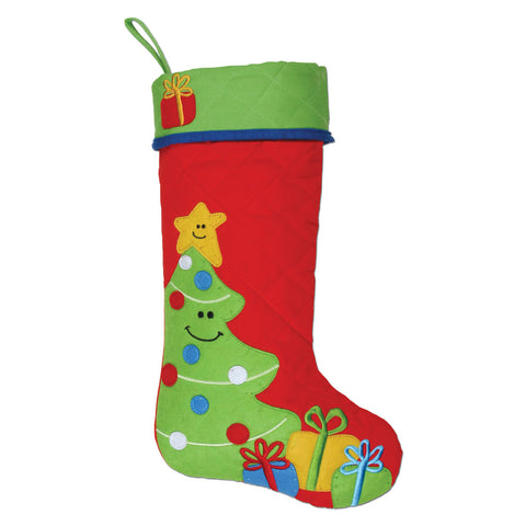 Stephen Joseph Christmas Tree Stocking