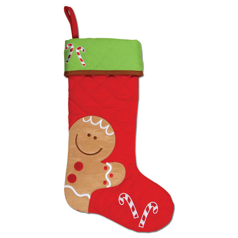 Stephen Joseph Gingerbread Man Stocking