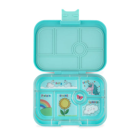 Yumbox: Misty Aqua (6 Compartments)