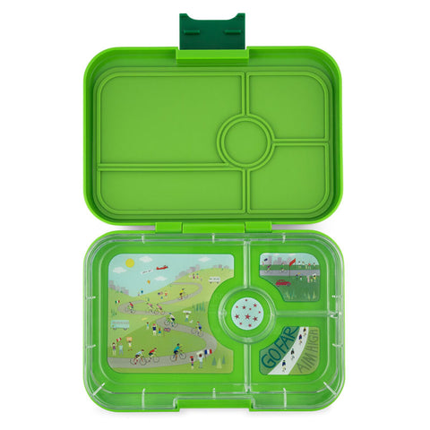 Yumbox Tapas - Go Green (4-Compartment Tray)