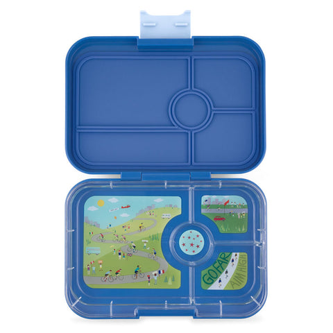 Yumbox Tapas - True Blue (4-Compartment Tray)