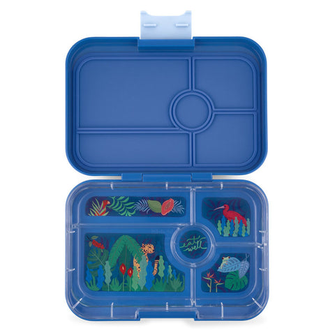 Yumbox Tapas - True Blue (5-Compartment Tray)