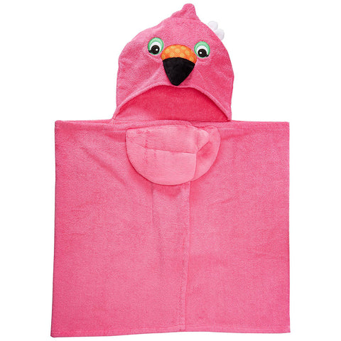 Zoocchini Toddler Towel: Franny the Flamingo