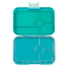 Yumbox Tapas - Antibes Blue (4-Compartment Tray) - CLEAR TRAY