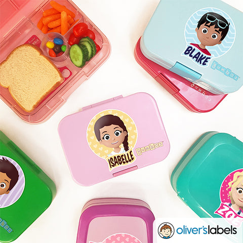 MyMoji™ Bento Box Waterproof Label