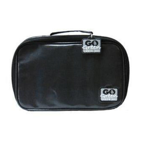 Go Green Insulated Carrying Case: Black Stallion