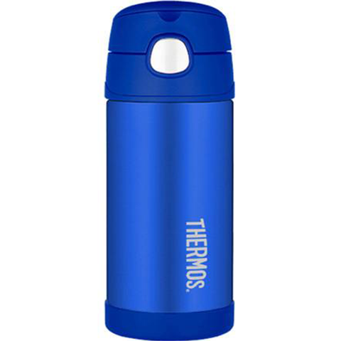 Thermos 12oz FUNtainer Straw Bottle: Blue