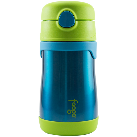 Thermos Foogo Vaccum Insulated Bottle: Blue/Green