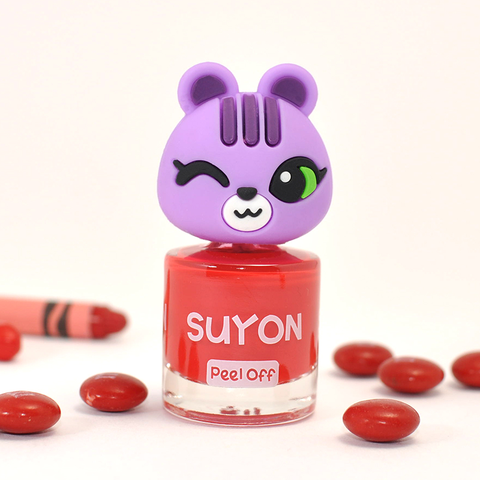 Suyon Bright Red Happy Arong Nail Polish