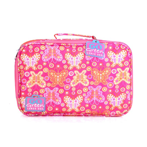 Go Green Insulated Carrying Case: Butterfly Bash