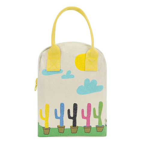 Fluf CACTUS Zipper Lunch Bag