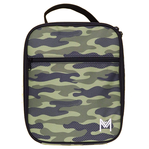 MontiiCo Insulated Lunch Bag (Ice Pack incl.) - CAMOUFLAGE