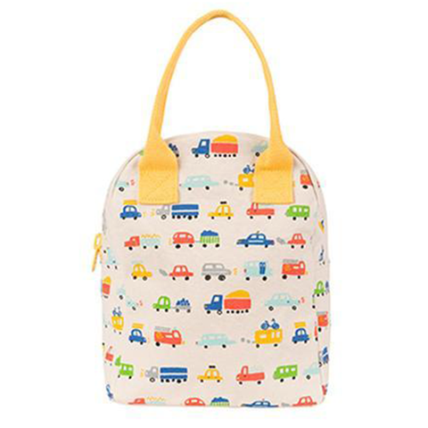 Fluf CARS Zipper Lunch Bag