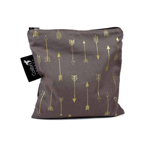 Colibri Large Reusable Snack Bag - Chocolate Arrows