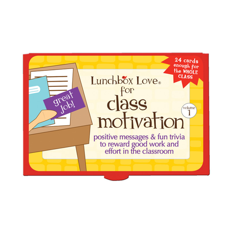 Lunchbox Love® For Teachers: Class Motivation