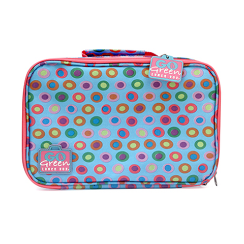 Go Green Insulated Carrying Case: Confetti