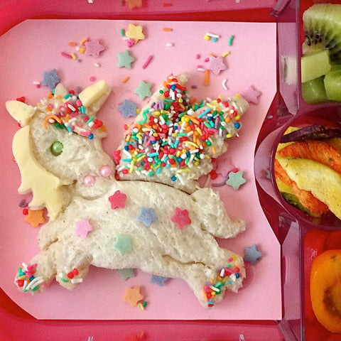 Lunch Punch Set of 2 Sandwich Cutters: UNICORN